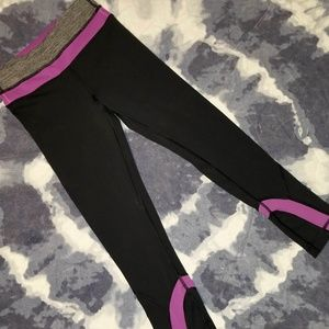 Lululemon Run: Inspire Crop II size 2